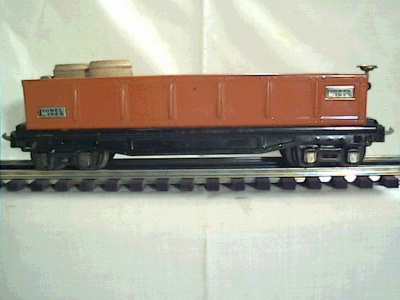 Lionel 2812 orange nickel