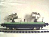 Lionel 2820 Searchlight car