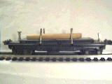 Lionel 3811 Operating Log Car