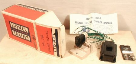 lionel postwar 148 dwarf signal