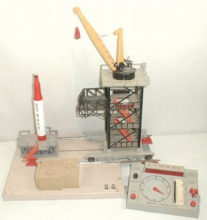 Lionel postwar 175 rocket launcher