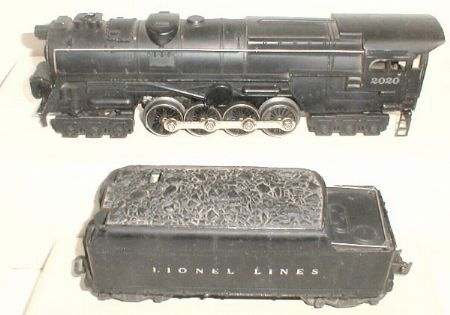 Lionel 2020 steam trubine
