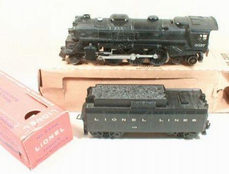 Lionel Postwar 2037 Steam Locomotive