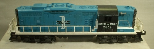 Lionel 2359 B&M gp-9 switcher