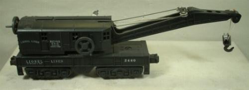 Lionel 2460 Crane Car