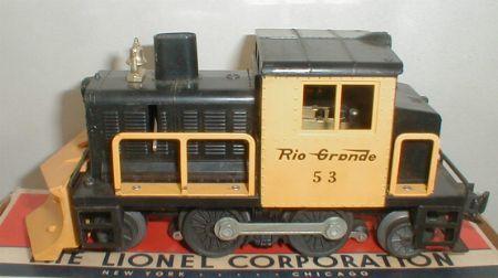 Lionel Rio Grande Snow Plow 53