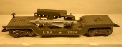 Marx 2824 Army Rocket Launcher Flat