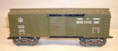 Marx 2858 Army Ordinance Boxcar