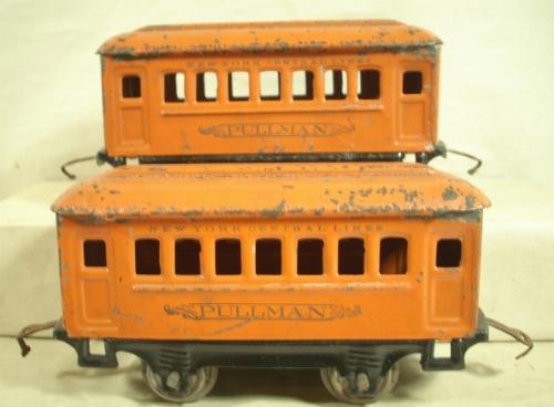 close up of orange 600 pullmans