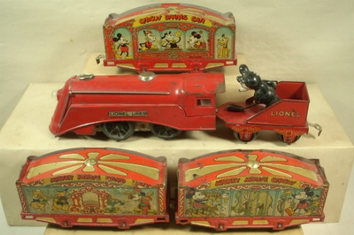 Lionel Mickey Mouse Circus Set