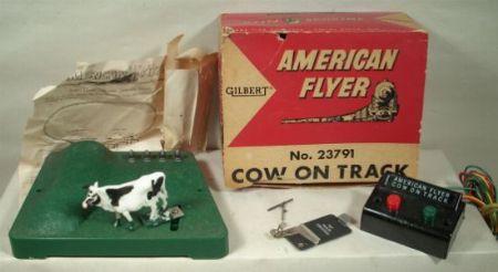 AF Cow on track