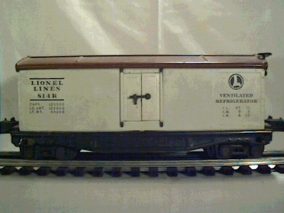 Lionel 814 reefer car