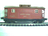 Lionel rubber stamped 2817   caboose