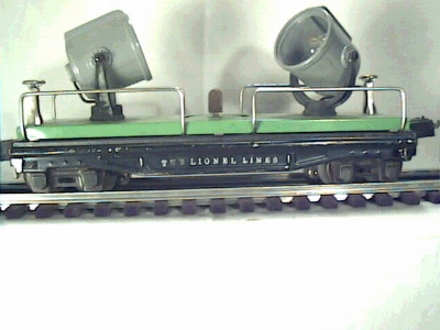 Lionel 2820 Floodlight car
