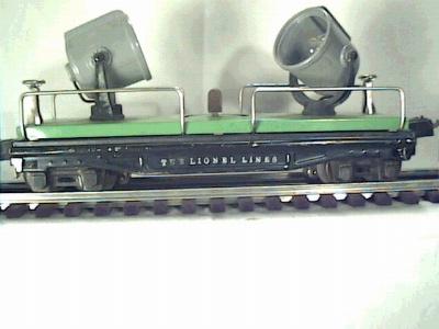 Lionel 2820 Floodlight car