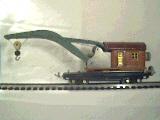 Lionel 810 crane Terra Cotta