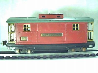 Lionel 817 caboose