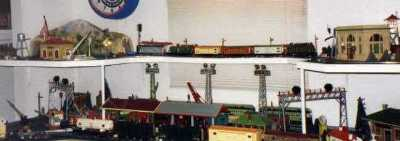 Lionel Standard gauge trains