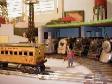 marx toy train layout