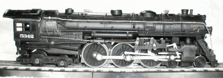 Lionel 001 Super-detailed Locomotive