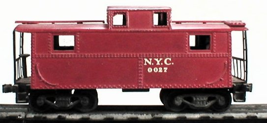 Lionel 0027 NYC caboose