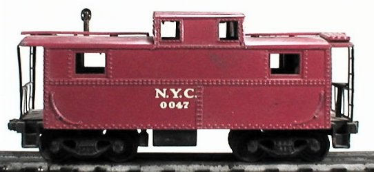 Lionel 0047 NYC caboose