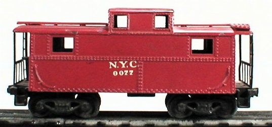 Lionel 0077 NYC caboose