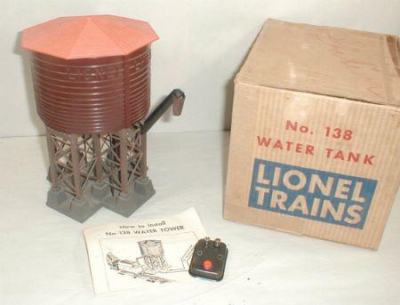Lionel postwar 138 water tower