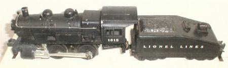 Lionel 1615 steam switcher