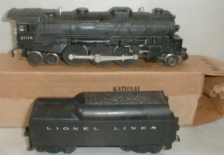 Lionel postwar 2018 steam loco
