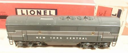 Lionel NYC F3 B unit 2344