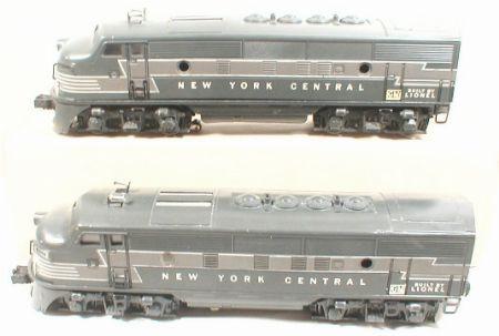 Lionel Postwar NYC F3 AA Units