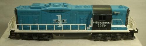 Lionel 2359 B&M gp-9 switcher