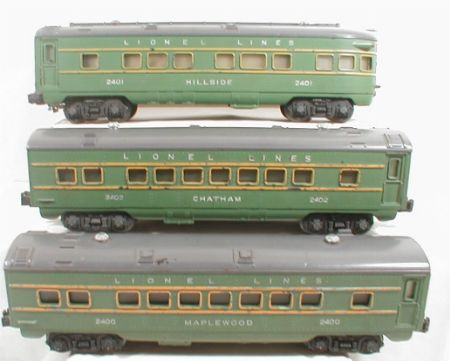 Lionel 2400 Maplewood 2401 Hillside 2402 Chatham