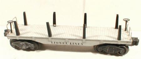 Lionel 2411 flatcar