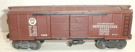 Lionel 2458 boxcar