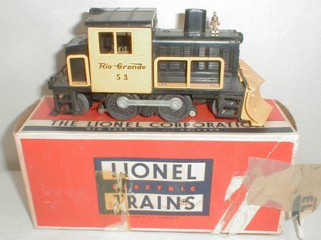 Lionel 53 Snow Plow
