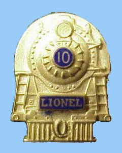 Lionel Employee 10 Year Pin