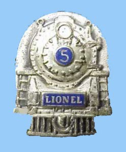 Lionel Employee 5 Year Pin