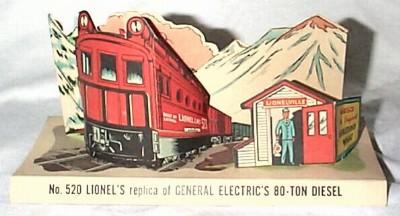 Lionel nabisco premium