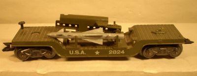 Marx 2824 Army Rocket Launcher Flat