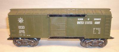 Marx 2858 Army Ordinance Boxcar